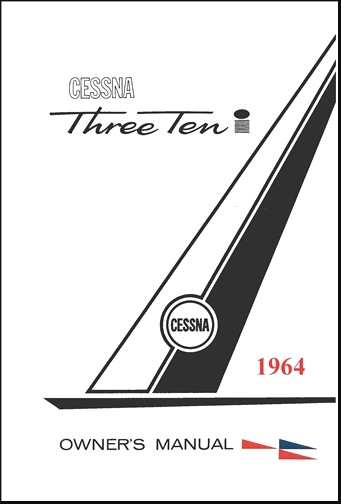 Cessna 310I 1964 Owner's Manual (part# D848-13)