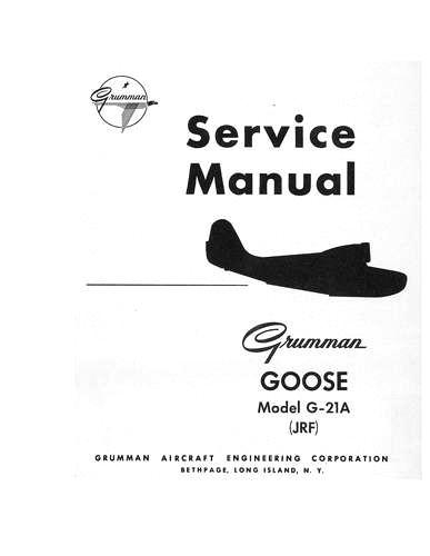 Grumman G-21A Goose Series