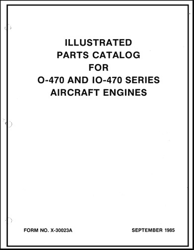 Continental O-470 & IO-470 Series