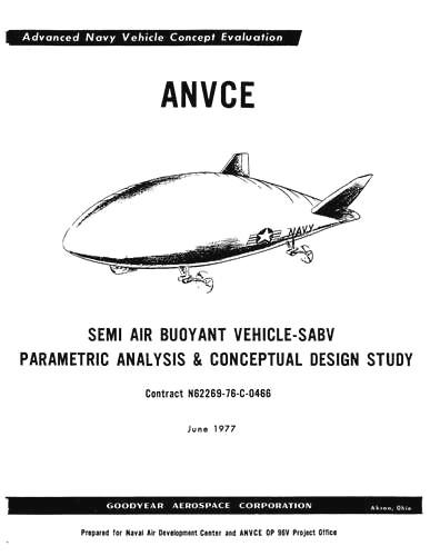 Blimps ANVCE 1977 Pilot's Manual (part# BIKTYPE-POM-C)