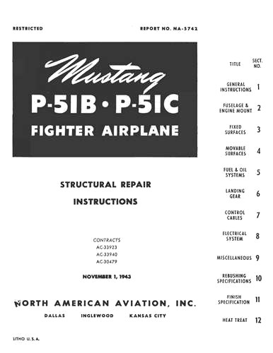 North American A-36 & P-51 Series