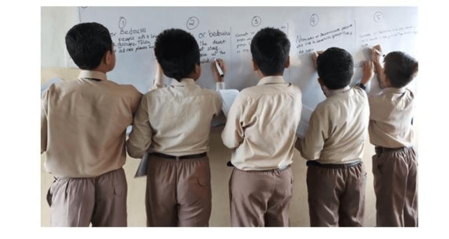 Teacher friendly English classrooms