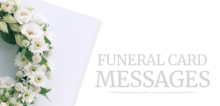Funeral You Card Sympathy Thank