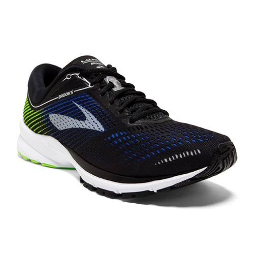 Brooks Launch 5 Men's Running Black Blue Green 1102781D016