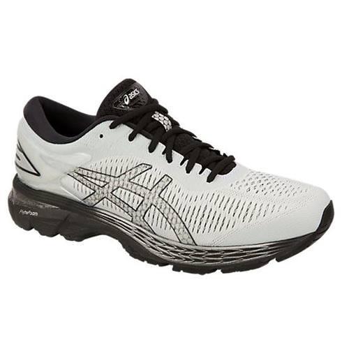 Asics Gel Kayano 25 Men's Running Shoe Wide 4E Glacier Grey Black 1011A023-021