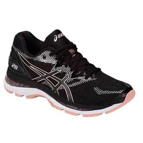 Asics Gel Nimbus 20 Women's Running Shoe Black Frosted Rose T850N 001