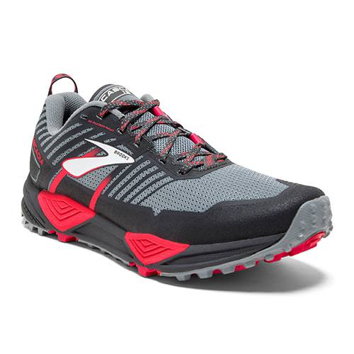 Brooks Cascadia 13 Women's Running Grey Grey Pink 1202741B091