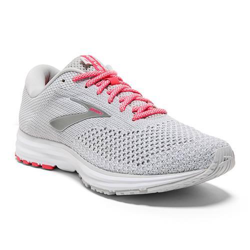 Brooks Revel 2 Women's Running Grey White Pink 1202811B028