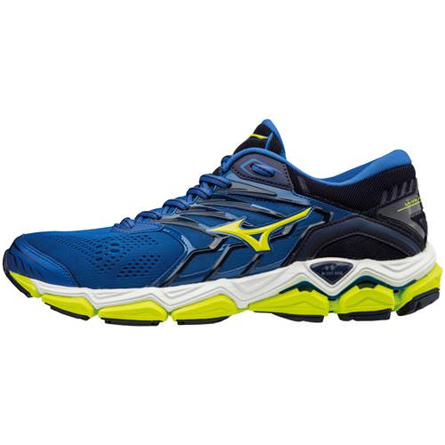 Mizuno Wave Horizon 2 Men's Running Surf the Web Lime Punch 410981.5E4I