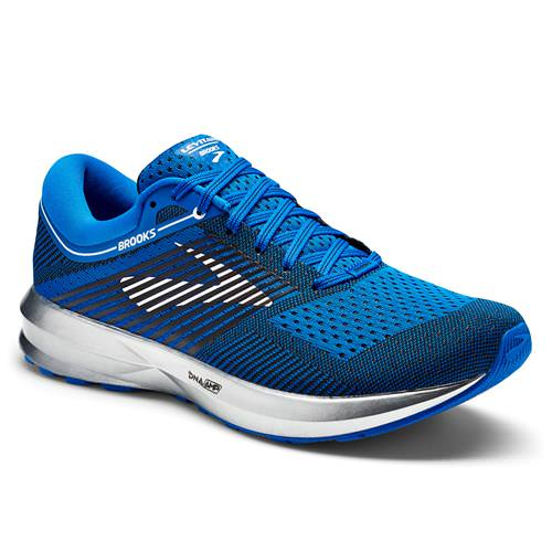 Brooks Levitate Men's Running Blue Silver Black 1102691D406