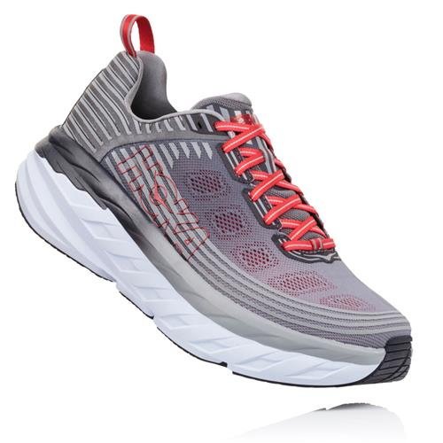 Hoka One One Bondi 6 Men's Wide EE Alloy Steel Grey 1019271 ASGY