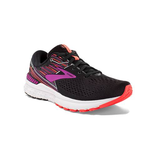Brooks Adrenaline GTS 19 Women's Running Black Purple Coral 1202841B080