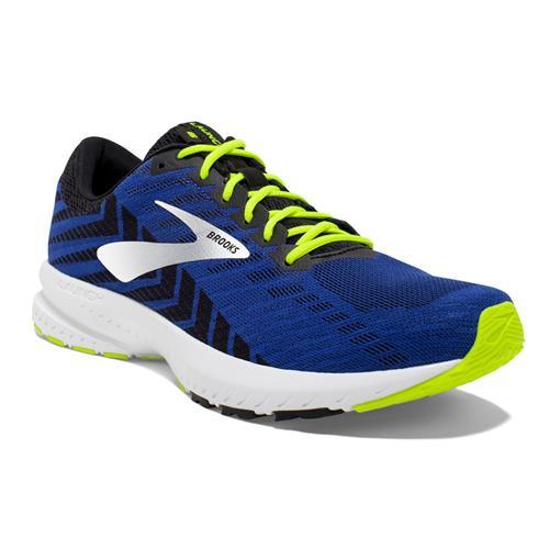 Brooks Launch 6 Men's Running Blue Black Nightlife 1102971D419