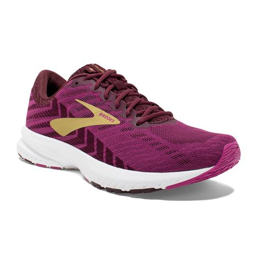 Brooks Launch 6 Women's Running Aster Fig Gold 1202851B553