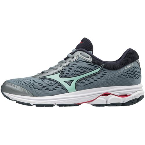 Mizuno Wave Rider 22 Women's Wide D Tradewinds Teaberry 410998.9T6M