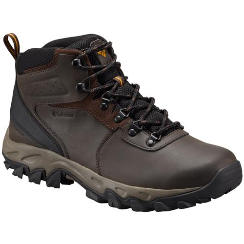 Columbia Newton Ridge Plus II Waterproof Cordovan Squash Men's Hiking Boot 1594731 231