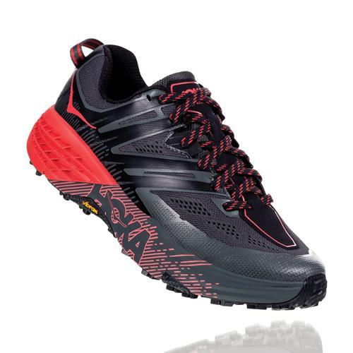 Hoka One One Speedgoat 3 Women's Trail Dark Shadow Poppy Red 1099734 DSPRD
