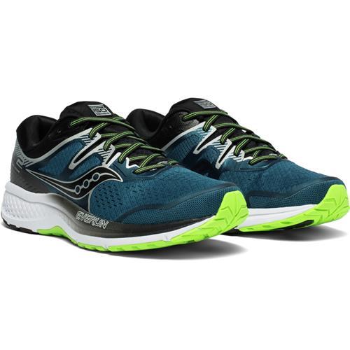 Saucony Omni ISO 2 Men's Wide EE Running Shoe Blue Silver S20512-1