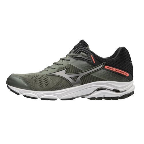 Mizuno Wave Inspire 15 Men's Running Shoes Beetle-Metallic Shadow 411050.4K9W