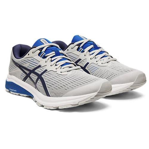 Asics GT-1000 8 Men's Running Shoe Wide 4E Mid Grey Peacoat 1011A539 020