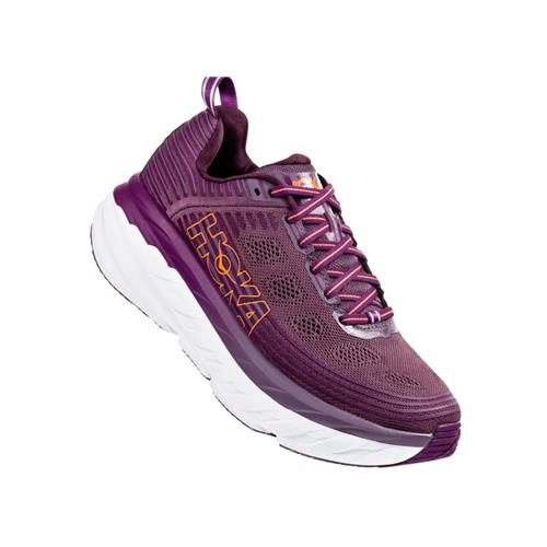 Hoka One One Bondi 6 Women's Vapor Arctic Dusk Grape Juice 1019270 ADGJ