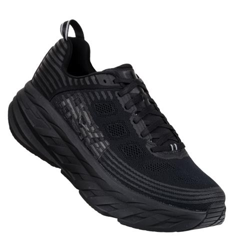 Hoka One One Bondi 6 Men's Black Black 1019269 BBLC