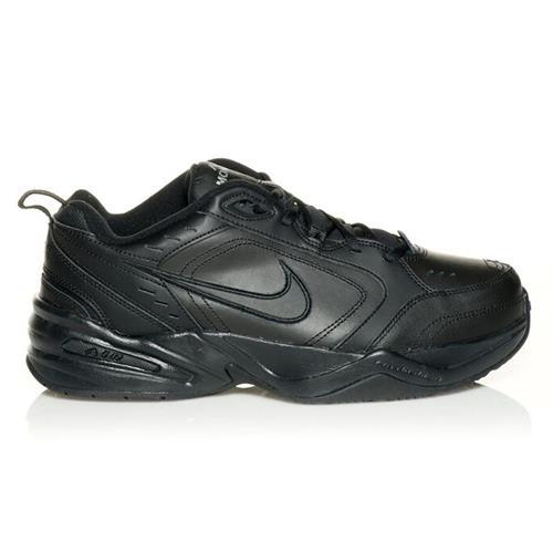 Nike Air Monarch IV Wide 4E Training Shoes Black Black 416355-001