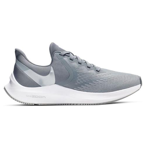 Nike Zoom Winflo 6 Women's Wide D Running Grey White BQ3192-002