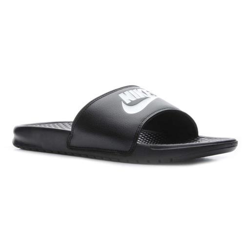 Nike Benassi JDI Mens Slide Black White 343880-090