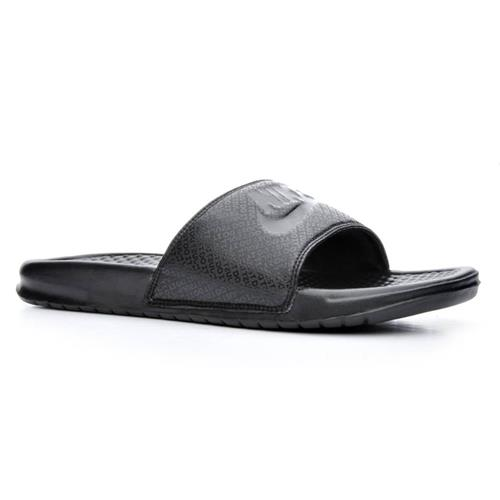 Nike Benassi JDI Mens Slide Black Black 343880-001