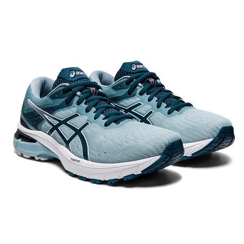 Asics GT-2000 9 Women's Running Shoe Light Steel Magnetic Blue 1012A859 401