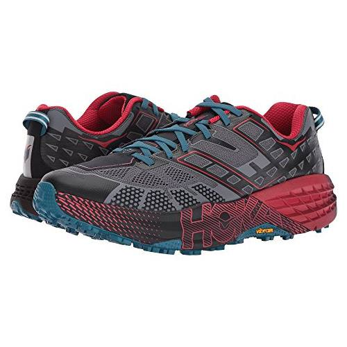 Hoka One One Speedgoat 2 Men's Trail Black True Red 1016795 BTRRD