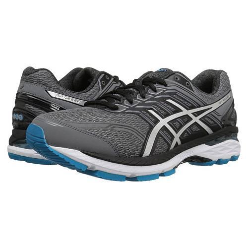 Asics GT-2000 5 Men's Running Shoe Carbon Silver Island Blue T707N 9793