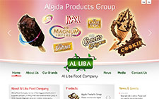 Alliba Foods Web Sitesi