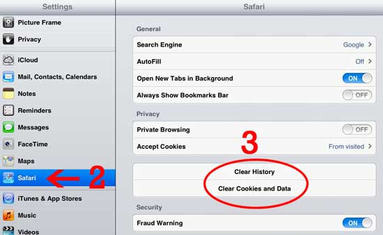 How to Clear Cache on Ipad