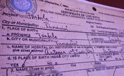 Fix Errors in Birth Certificate