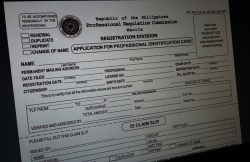 How to Renew PRC License