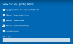 How to downgrade Windows 10