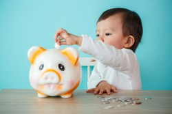 Kids savings account