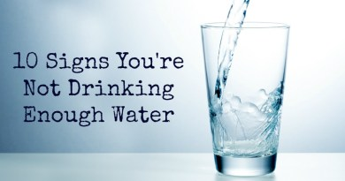 drinking enough water