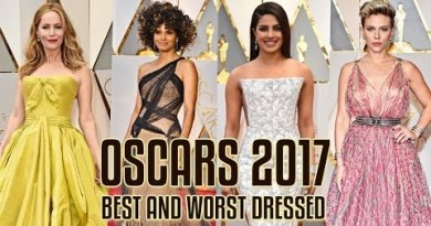 Top 5 Worst Dresses at Oscars 2017