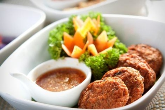 Thai Corn Falafel