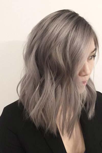 srebrna kosa