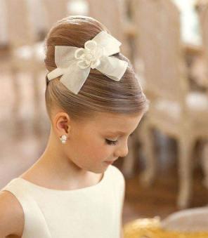 frizure za venčanje mala devojčica