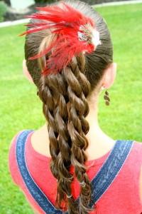 kosa devojčica