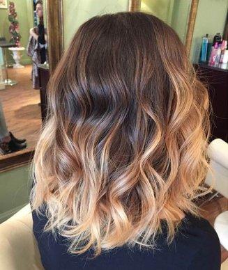 plavi sombre na kosi