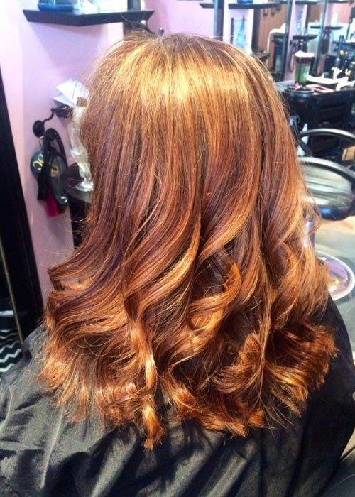 pramenovi na gustoj kosi