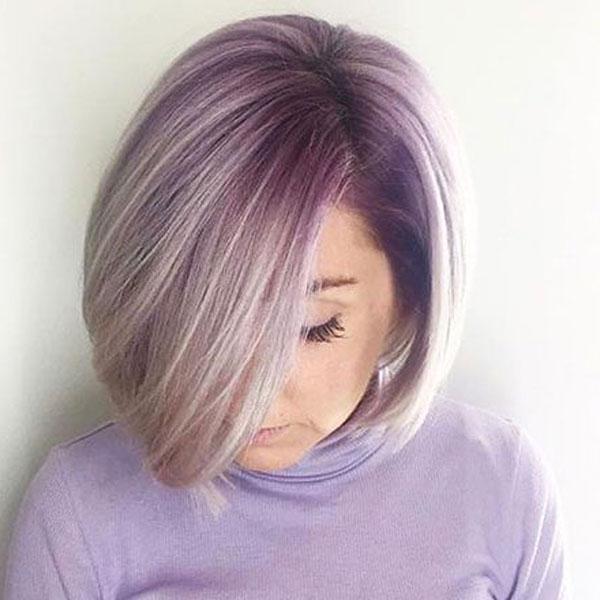 purple boja kose