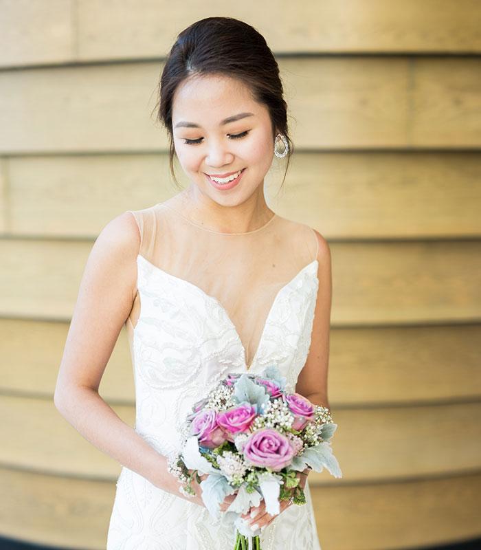 niske punđe za venčanje