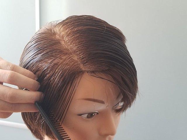 deljenje kose u sekcije